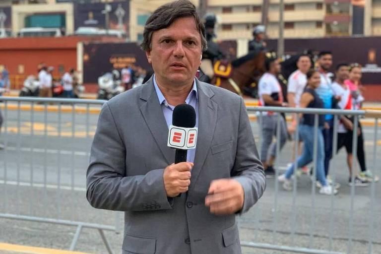 O jornalista esportivo Mauro Cezar