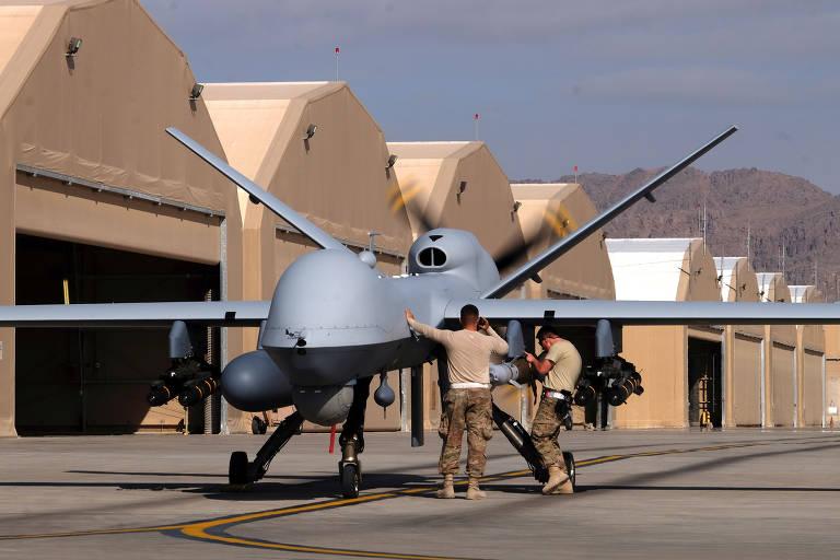 Conheça modelos de drones armados