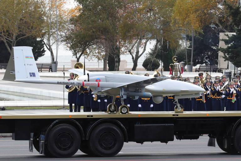 Drones dominam história militar de 2020 e abrem brecha a países pobres