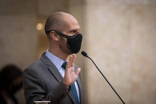 Posse do prefeito eleito de São Paulo, Bruno Covas (PSDB)