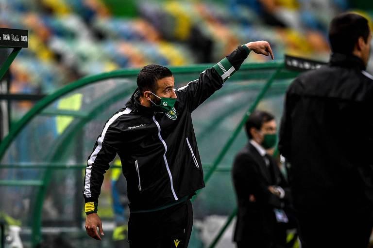 Rúben Amorim, do Sporting, é um dos técnicos da elite portuguesa sem licença Uefa Pro