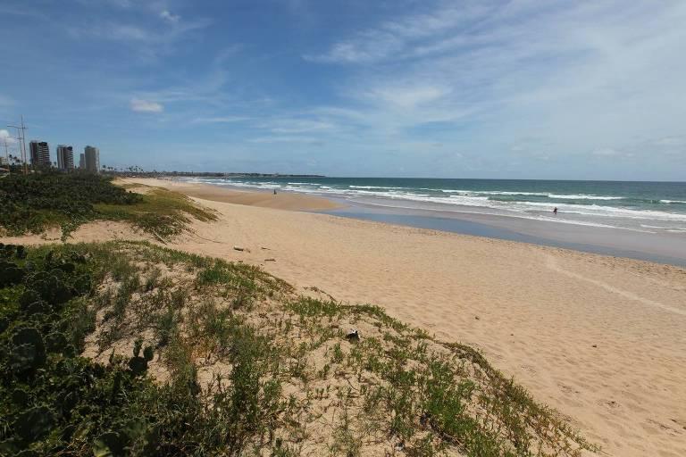 Praia de Jaguaribe, em Salvador (BA)