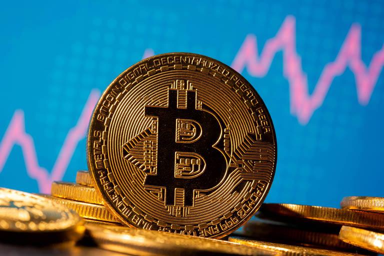 O crescimento do bitcoin