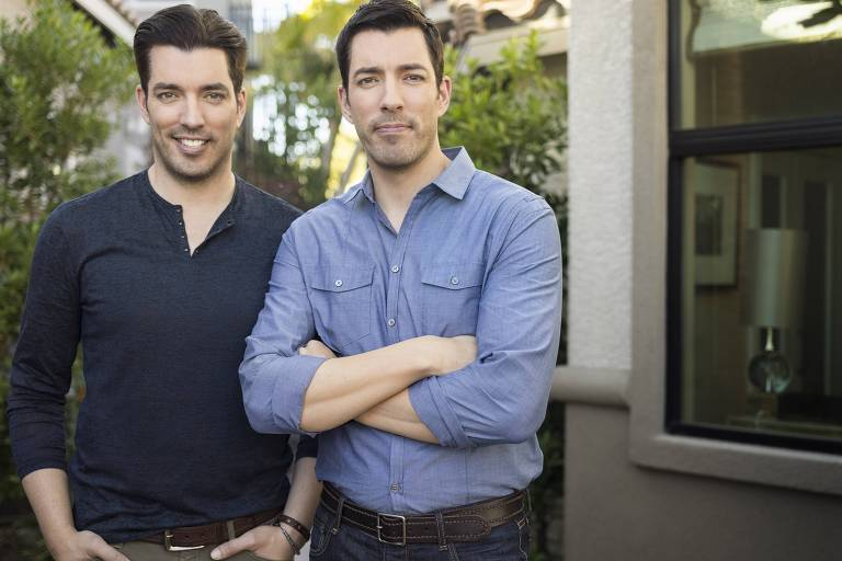 Drew e Jonathan Scott são os Irmãos à Obra