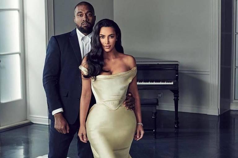 Kim Kardashian e Kanye West estão se separando, diz site