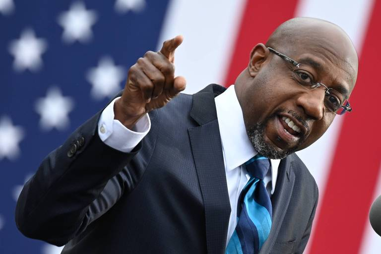 Pastor da igreja de Martin Luther King, Warnock será 1º senador negro da história da Geórgia