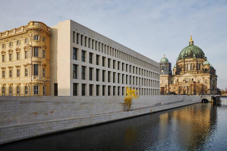 Complexo de Stadtschloss restaurado abrigará o Fórum Humbold, em Berlim