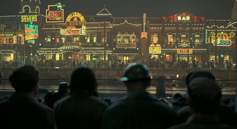 """Cena do filme chinês """"The Eight Hundred"""", de Guan Hu"""
