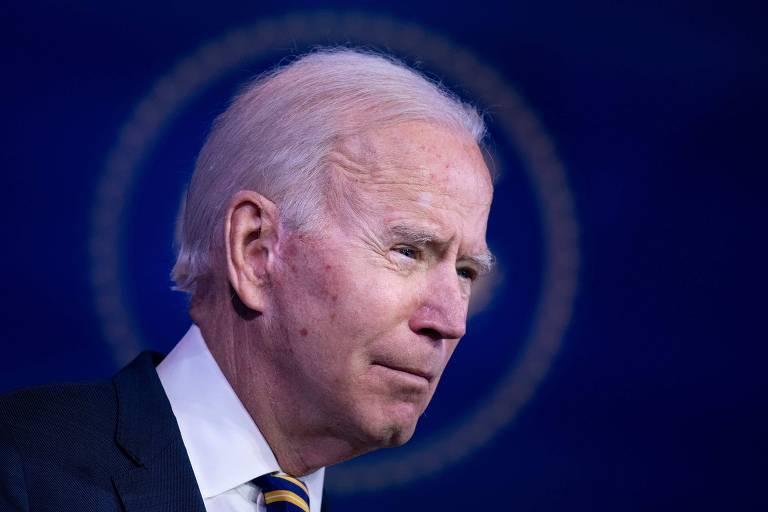 O democrata Joe Biden, presidente eleito dos Estados Unidos