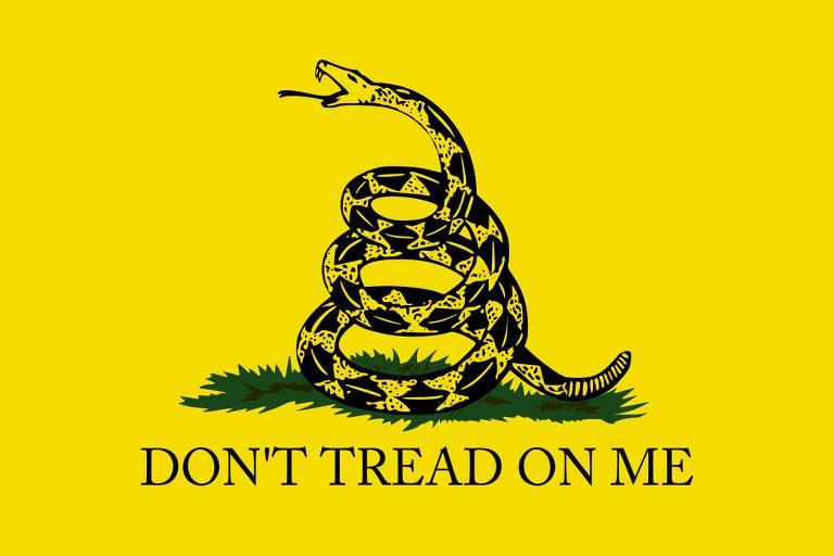 A bandeira de Gadsden