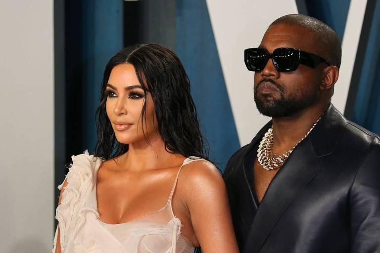 Kanye West vai abordar separação de Kim Kardashian em novo álbum