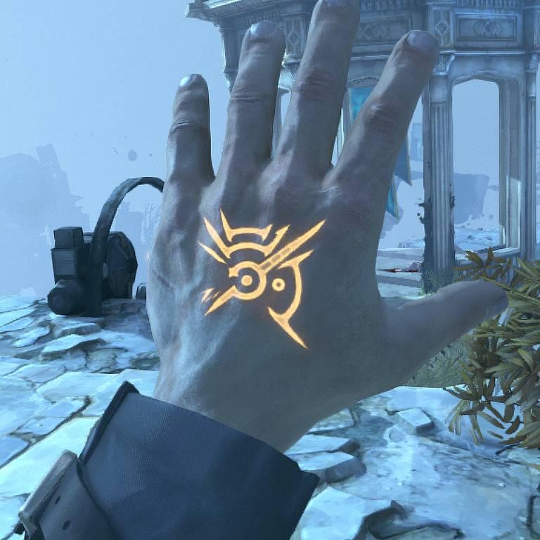 A Marca do Estranho (Outsider's Mark), do jogo 'Dishonored'