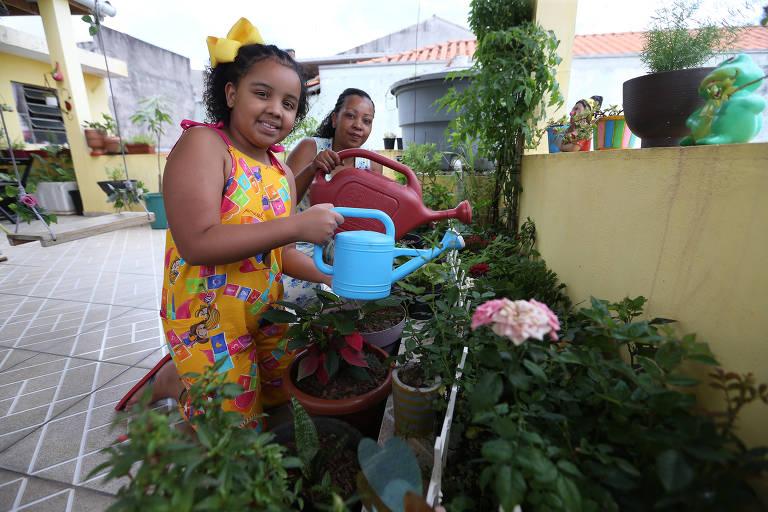 Mariana Dias Novaes superou o luto com o cultivo de plantas
