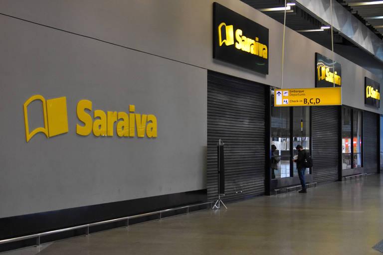 Saraiva fechou metade de suas livrarias entre janeiro e novembro do ano passado