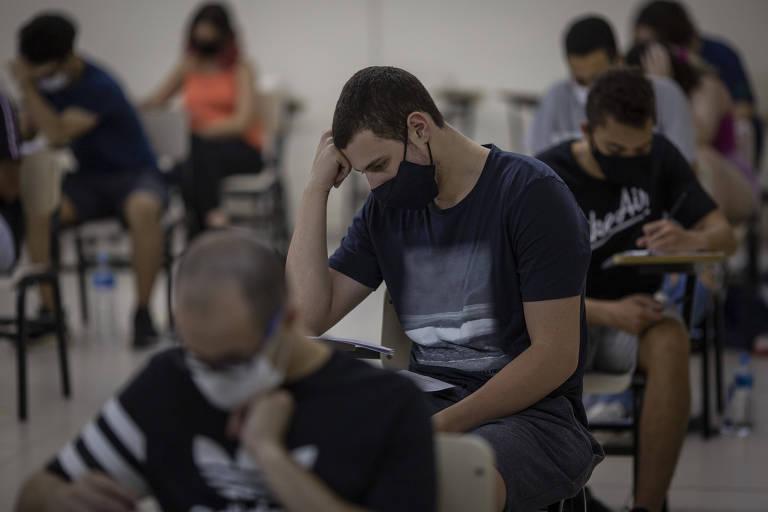 Unicamp realiza o primeiro grande vestibular presencial durante a pandemia
