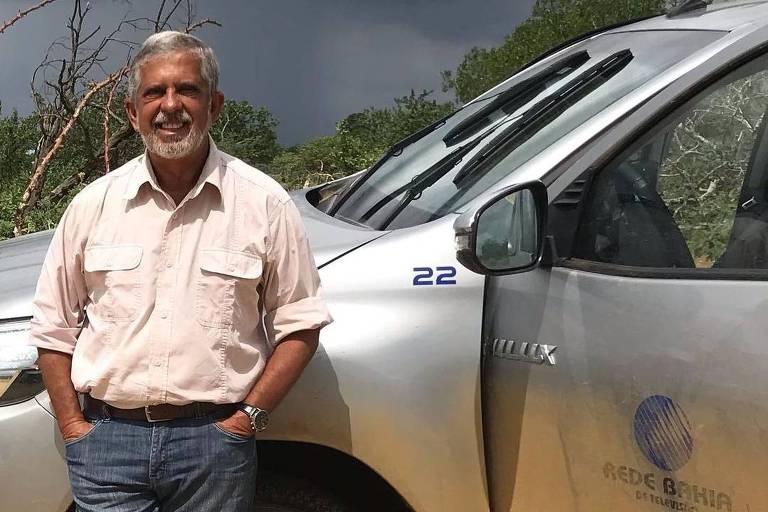 O repórter José Raimundo, que deixou afiliada da Globo