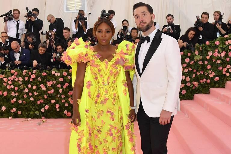 Marido de Serena Williams rebate crítica de bilionário sobre a tenista: 'Racista e sexista'