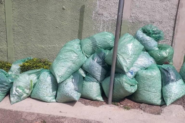 Pilhas de documentos picotados foram encontradas na prefeitura de Louveira (SP), que investiga quais papeis seriam descartados.