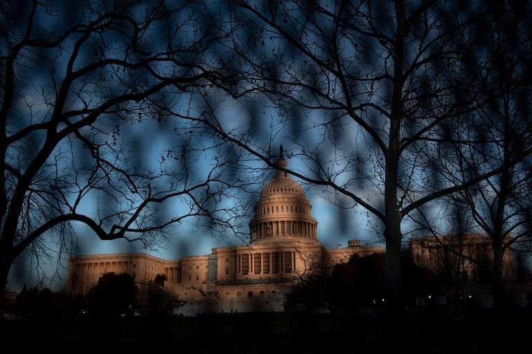 Capitólio, sede do Legislativo dos EUA, em Washington