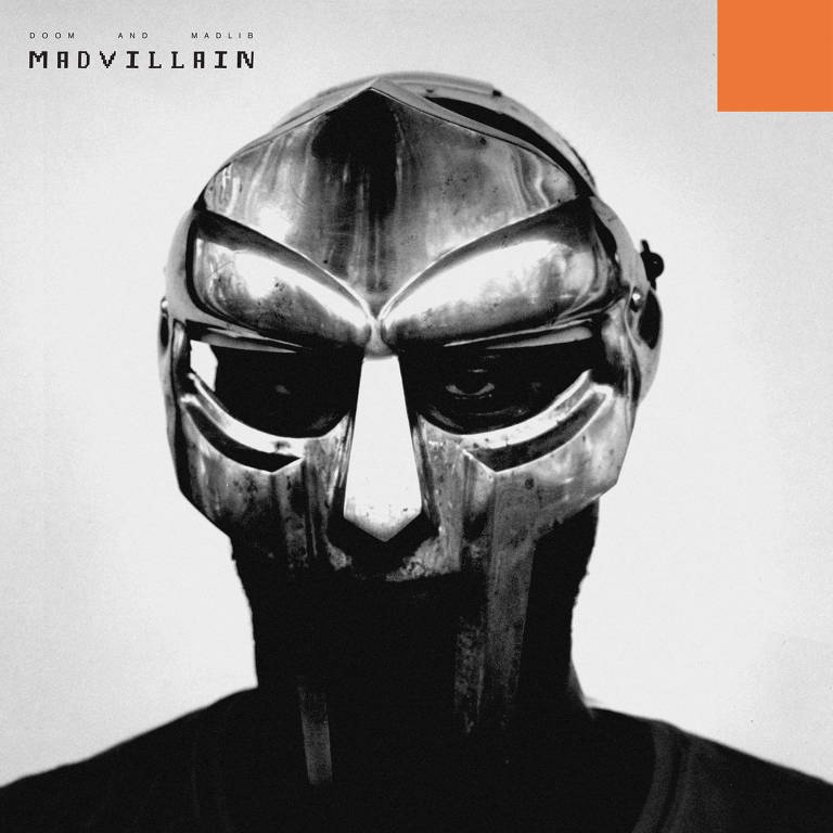 Capa do disco 'Madvillainy', do rapper MF Doom