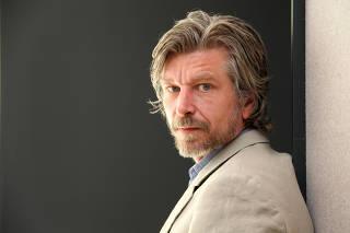 Karl Ove Knausgaard, a Norwegian novelist, in New York.