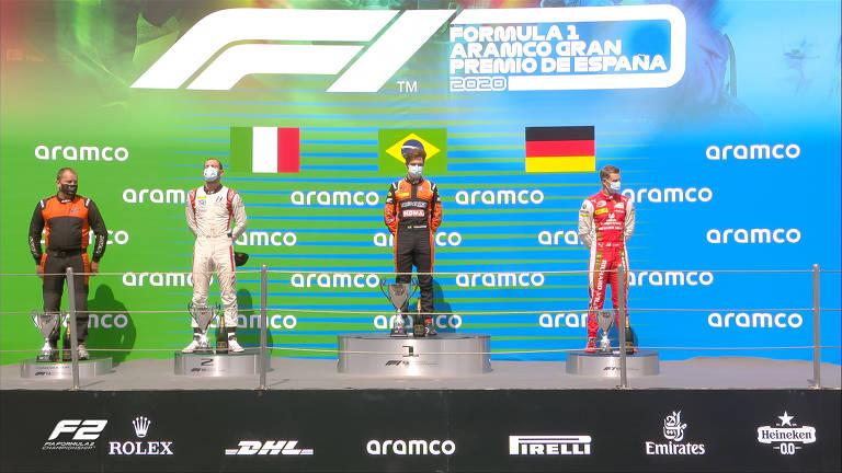 Felipe Drugovich se destaca na F2