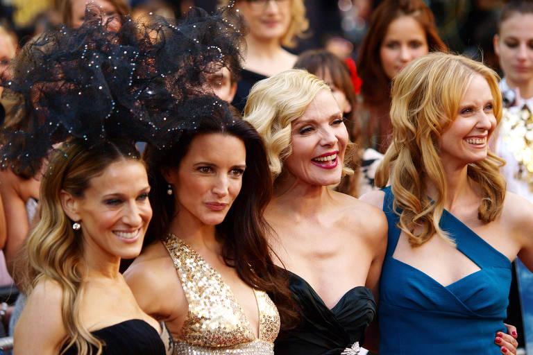 Sarah Jessica-Parker, Kristin Davis, Kim Cattrall e Cynthia Nixon, atrizes do elenco original