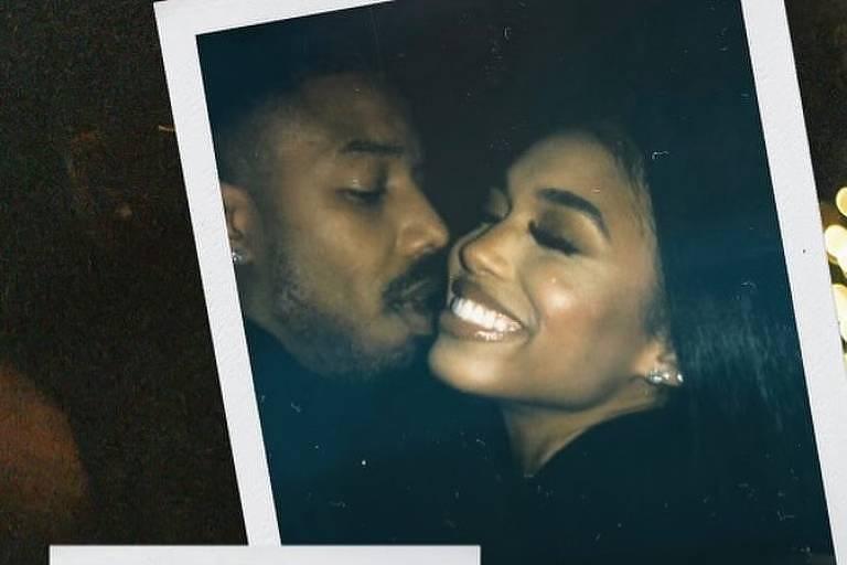 Michael B. Jordan e Lori Harvey assumem namoro ao publicar foto nas redes sociais