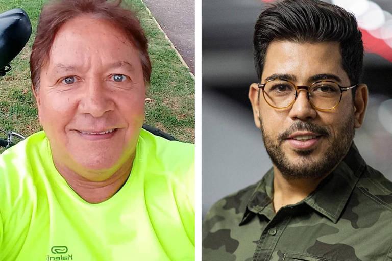 Cleto Alves Da Rocha Jr. (à esq) e Raphael Acioli