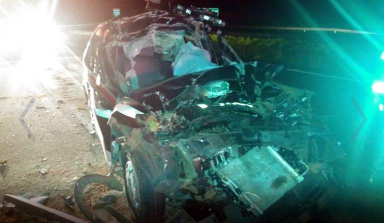 Delegado morre após bater viatura em traseira de caminhão no interior de SP