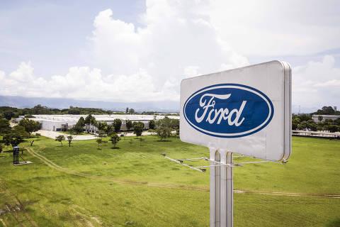 Taubate, SP, BRASIL, 12-01-2021:  Fehamento da FORD: Vista geral da fabrica da FORD  (que produz motores e transmissao) na cidade de Taubate  (Foto: Eduardo Knapp/Folhapress, MERCADO).
