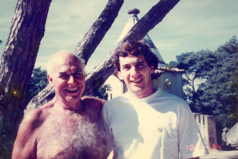 Antônio Carlos de Almeida Braga e Ayrton Senna
