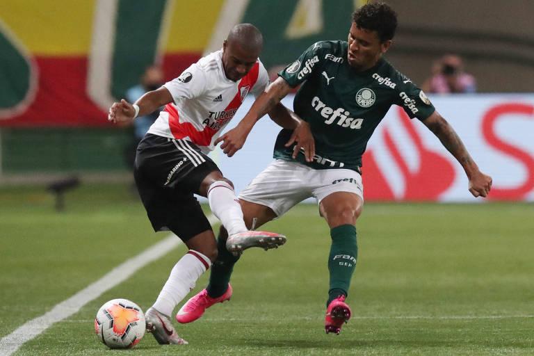 O Palmeiras, apesar do susto, se classificou para a final da Libertadores