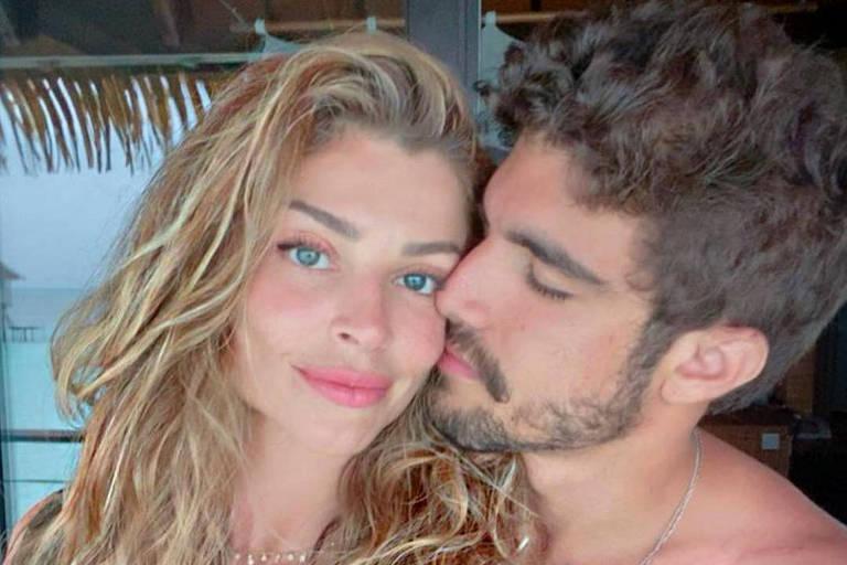 Caio Castro nega que traição seja motivo do término com Grazi Massafera