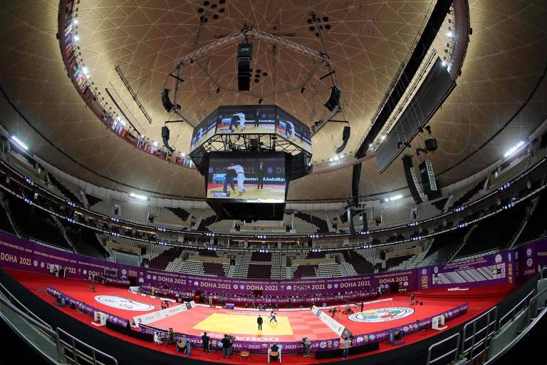 Arena onde foi realizado o Masters de Doha de judô