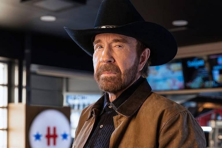 O ator Chuck Norris