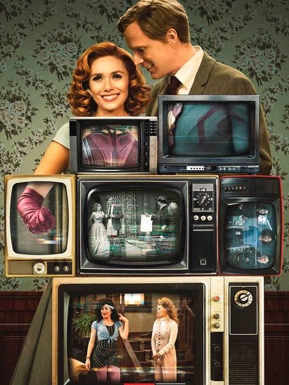 Imagens da série WandaVision