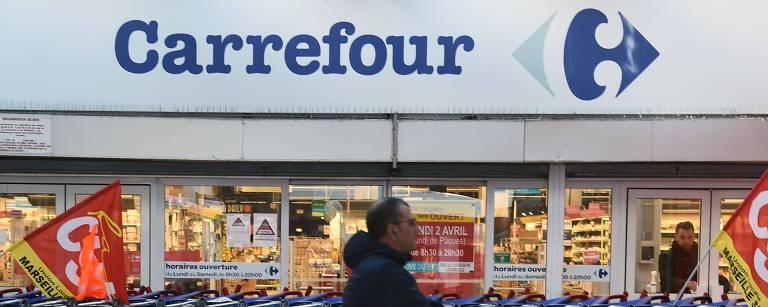 Unidade do Carrefour em Marselha na França