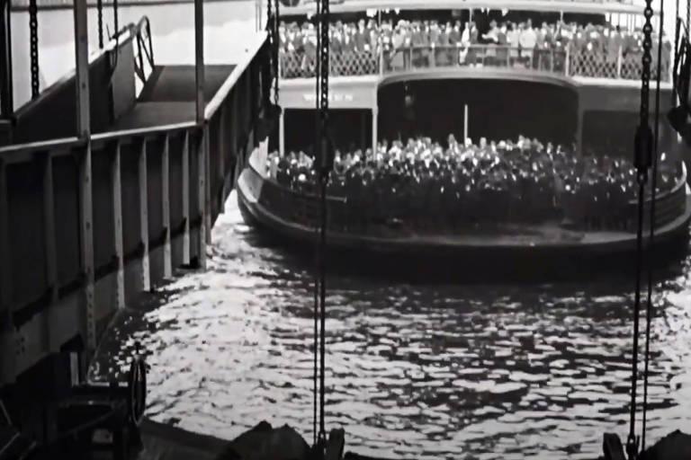 Veja cenas do curta 'Manhatta', de 1921