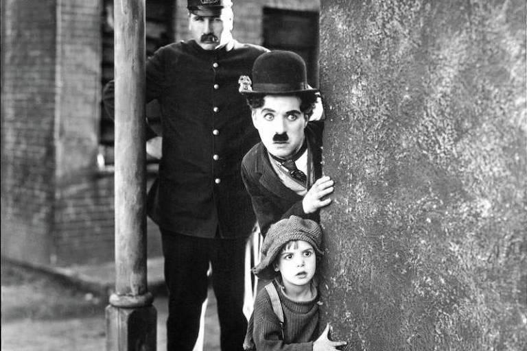 Cena de 'O Garoto', de Charles Chaplin