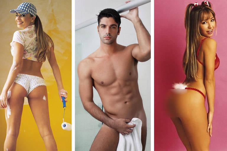 BBBs que fizeram ensaios nus: Grazi Massafera, Kadu Parga e Sabrina Sato