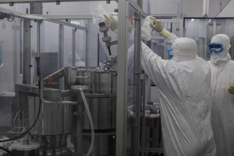 Veja como é a fábrica da Coronavac no Instituto Butantan