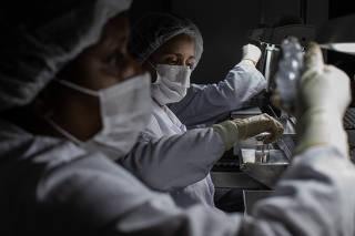 Fábrica do Butantan onde é produzida a vacina Coronavac, contra a Covid-19