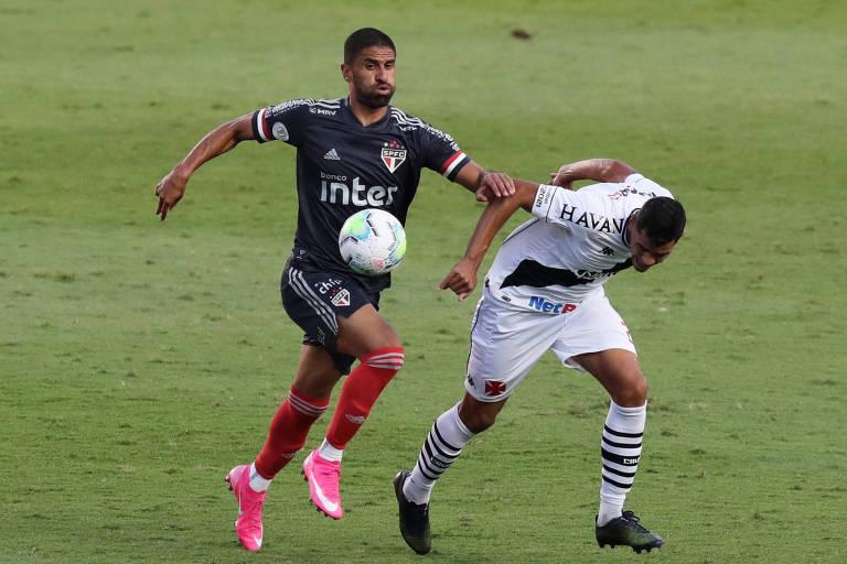 Tréllez tem apenas um gol no ano, marcado na Libertadores. No Campeonato Brasileiro, em seis partidas, o colombiano ainda não balançou as redes