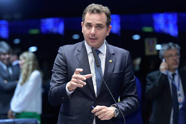 Não desistam do Brasil, diz Rodrigo Pacheco em evento com investidores