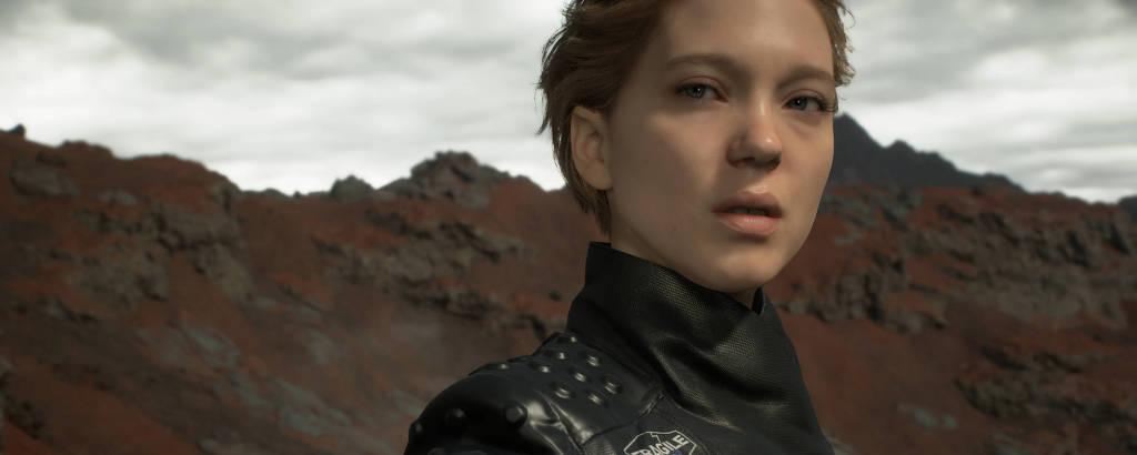 Léa Seydoux no game 'Death Stranding'