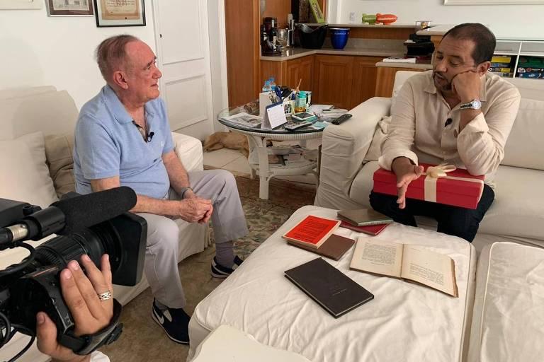 Renato Aragão e Geraldo Luís