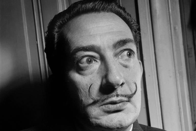 O pintor Salvador Dalí