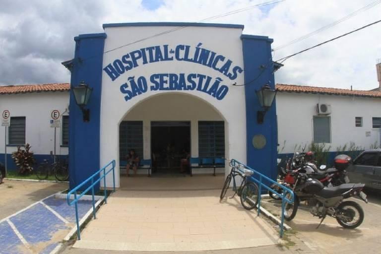 Fachada do Hospital de Clínicas de São Sebastião