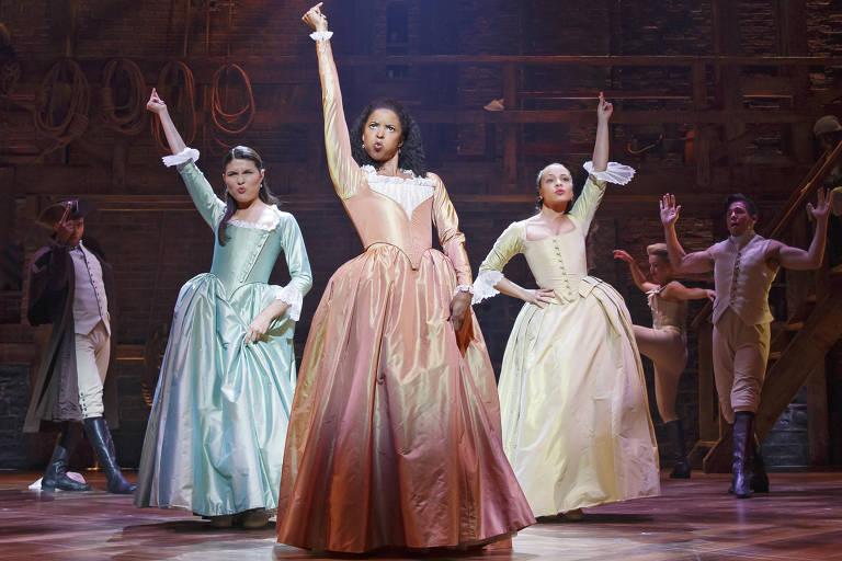 Veja imagens do musical 'Hamilton'